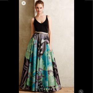 NWOT Anthropologie Pintura Ball Skirt